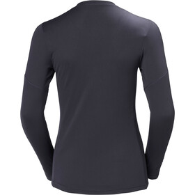Helly Hansen Lifa Active Light LS Shirt Dam graphite blue